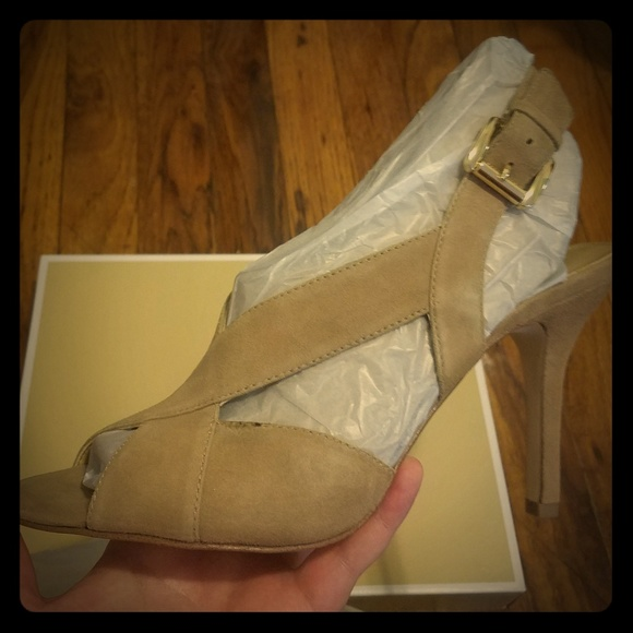 Michael Kors Shoes - NEW Michael Kors Becky sandal heels